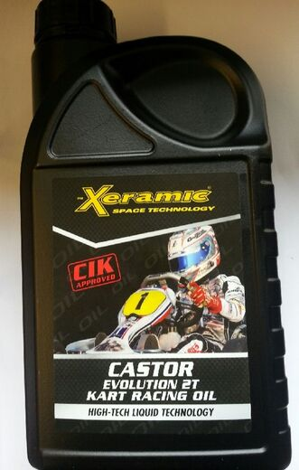 Xeramic Castor Evolution 2T Kart racing oil CIK